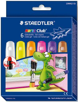 Image of Crayons Glass Gel Staedtler Pastel 6 Pack