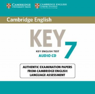 Image of Cambridge English Key 7 Authentic Examination Papers Audio Cd