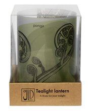 Image of Tealight Lantern Ponga Boxed