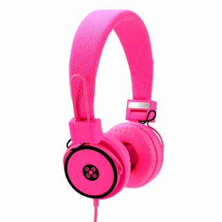 Image of Headphones Moki Hyper Pink Over Ear
