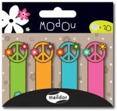 Image of Post It Notes Modou Sticky Markers Peace