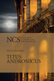 Image of Titus Andronicus : The New Cambridge Shakespeare