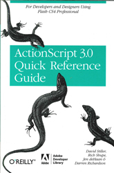 Image of Actionscript 3.0 Quick Reference Guide For Developers & Designers Using Flash Cs4 Professional