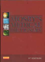 Image of Mosby's Medical Dictionary