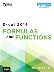 Image of Excel 2016 Formulas And Functions
