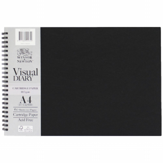 Image of Visual Diary Winsor & Newton A4 Landscape 110gsm