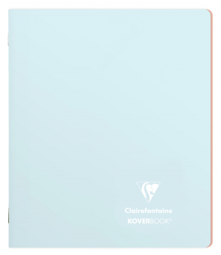 Image of Notebook Clairefontaine Koverbook A5 Lined Ice Blue