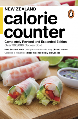 Image of New Zealand Calorie Counter