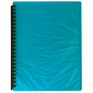 Image of Display Book Fm A4 Refillable 20p Teal