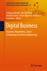Image of Digital Business : Business Algorithms Cloud Computing And Data Engineering