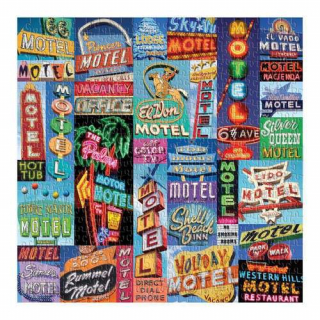 Image of Vintage Motel Signs : 500 Piece Puzzle