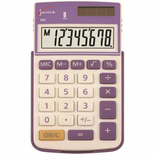 Image of Calculator Jastek Pocket Purple