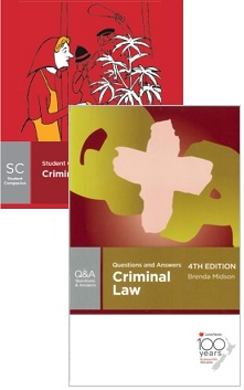Criminal Law : Butterworths Student Companion & Criminal Law: Butterworths Questions And Answers Pack