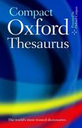 Image of Oxford Compact Thesaurus