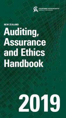 Image of Auditing Assurance And Ethics Handbook 2019 New Zealand