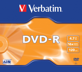 Image of Dvd Verbatim Dvd-r 4.7gb 16x Single