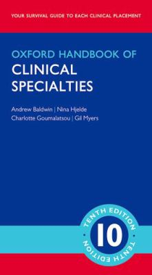 Image of Oxford Handbook Of Clinical Specialties