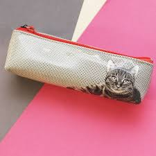 Image of Etching Cat : Long Bag