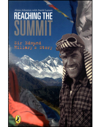 Image of Reaching The Summit Sir Edmund Hillarys Story