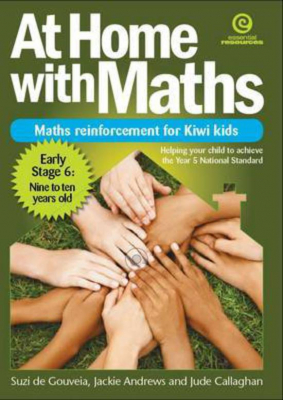 Image of At Home With Maths : Maths Reinforcement For Kiwi Kids Stage6 : 9-10 Years Old