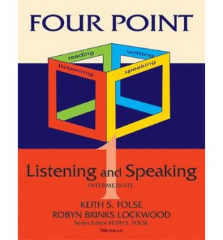 Image of Four Point Listening And Speaking : Intermediate