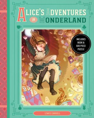 Alice In Wonderland Book And Puzzle Box Set