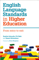 Image of English Language Standards In Higher Education : From Entry To Exit