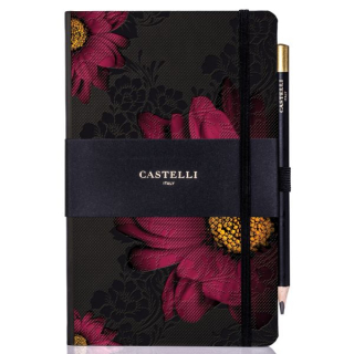 Journal Castelli Midnight Floral Gerbera
