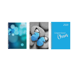 Image of Diary 2020 Aspen A5 Dtp Assorted