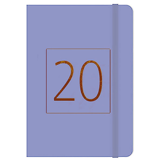 Image of Diary 2020 Cumberland Essex A5 Wtv Purple