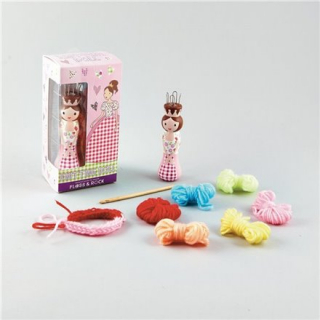 Image of Floss & Rock : Princess Knitting Doll