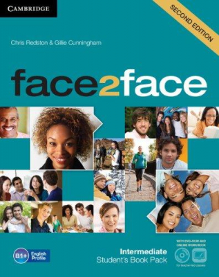 Image of Face2face : Intermediate : Student's Book With Dvd-rom And Online Workbook Pack