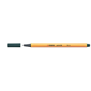 Image of Pen Stabilo Point 88 Fine 0.4mm 88/63 Olive