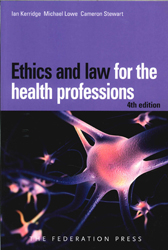 Image of Ethics And Law For The Health Professions