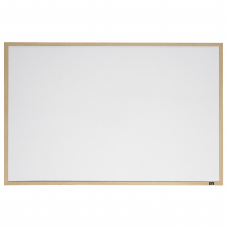 Image of Whiteboard Quartet Oak Finish 580 X 890mm