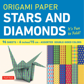Image of Origami Paper : Stars And Diamonds