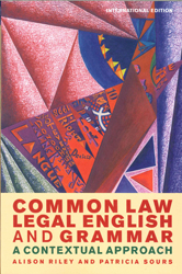 Image of Common Law Legal English And Grammar : A Contextual Approachinternational Edition