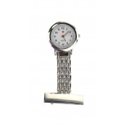 Image of Nurses FOB Watch in Tin Silver