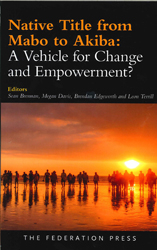 Image of Native Title From Mabo To Akiba : A Vehicle For Change And Empowerment