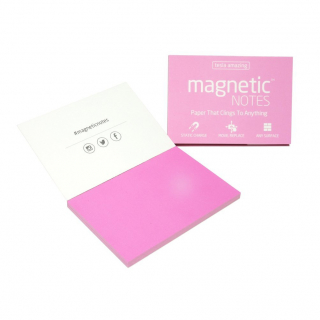 Image of Magnetic Notes Medium Pink 100x70mm