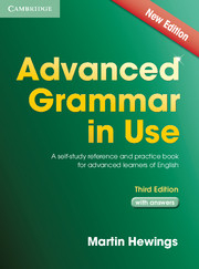 Advanced Grammar In Use : Book With Answers