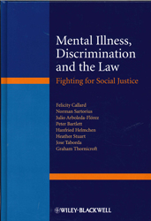 Image of Mental Illness Discrimination And The Law : Fighting For Social Justice