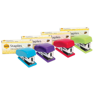 Image of Stapler Marbig Mini 26/6 With Staples Assorted