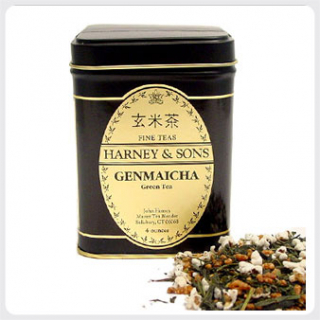 Harney Tea : Genmaicha Green Loose Leaf Tin