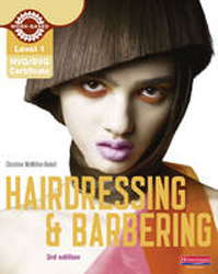 Image of Nvq/svq Level 1 Hairdressing & Barbering Candidate Handbook