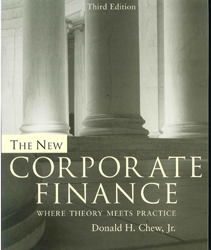 Image of New Corporate Finance Theory