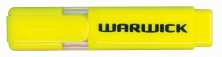 Highlighter Warwick Stubby Yellow