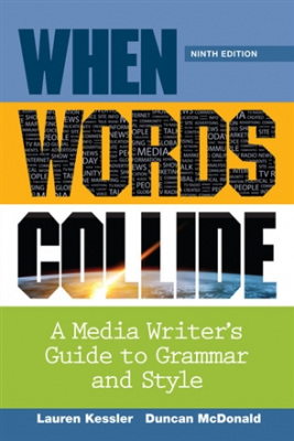 Image of When Worlds Collide : A Media Writer's Guide To Grammar And Style