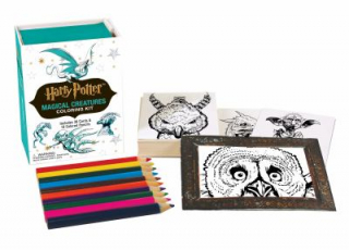 Image of Harry Potter : Magical Creatures Coloring Kit
