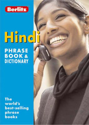 Image of Berlitz Hindi Phrase Book And Dictionary